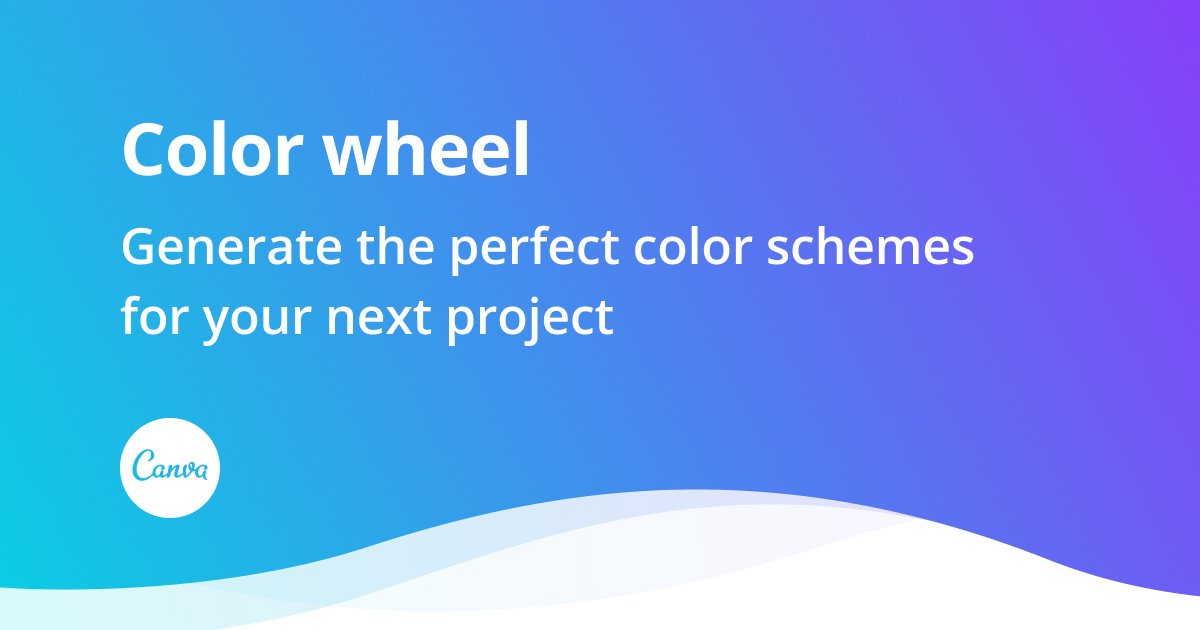 Color wheel - color theory and calculator | Canva Colors